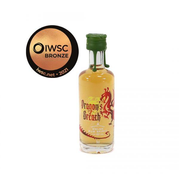 Dragon's Breath Spiced Rum - 5cl