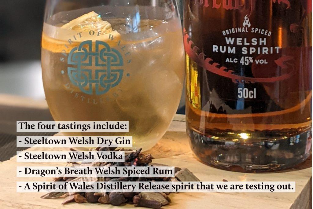 Spirit of Wales Distillery - Live Tasting Event