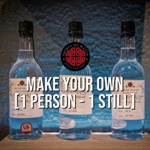 Spirit of Wales Distillery - Make your own Welsh Gin or Rum - 1 person