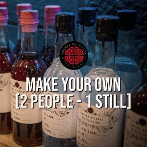 Spirit of Wales Distillery - Make your own Welsh Gin or Rum - 2 people