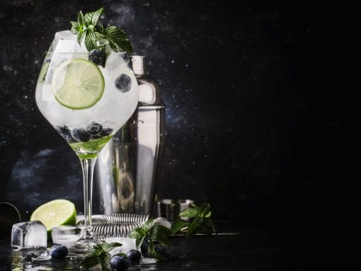 Southside (A Mojito styled Gin cocktail)