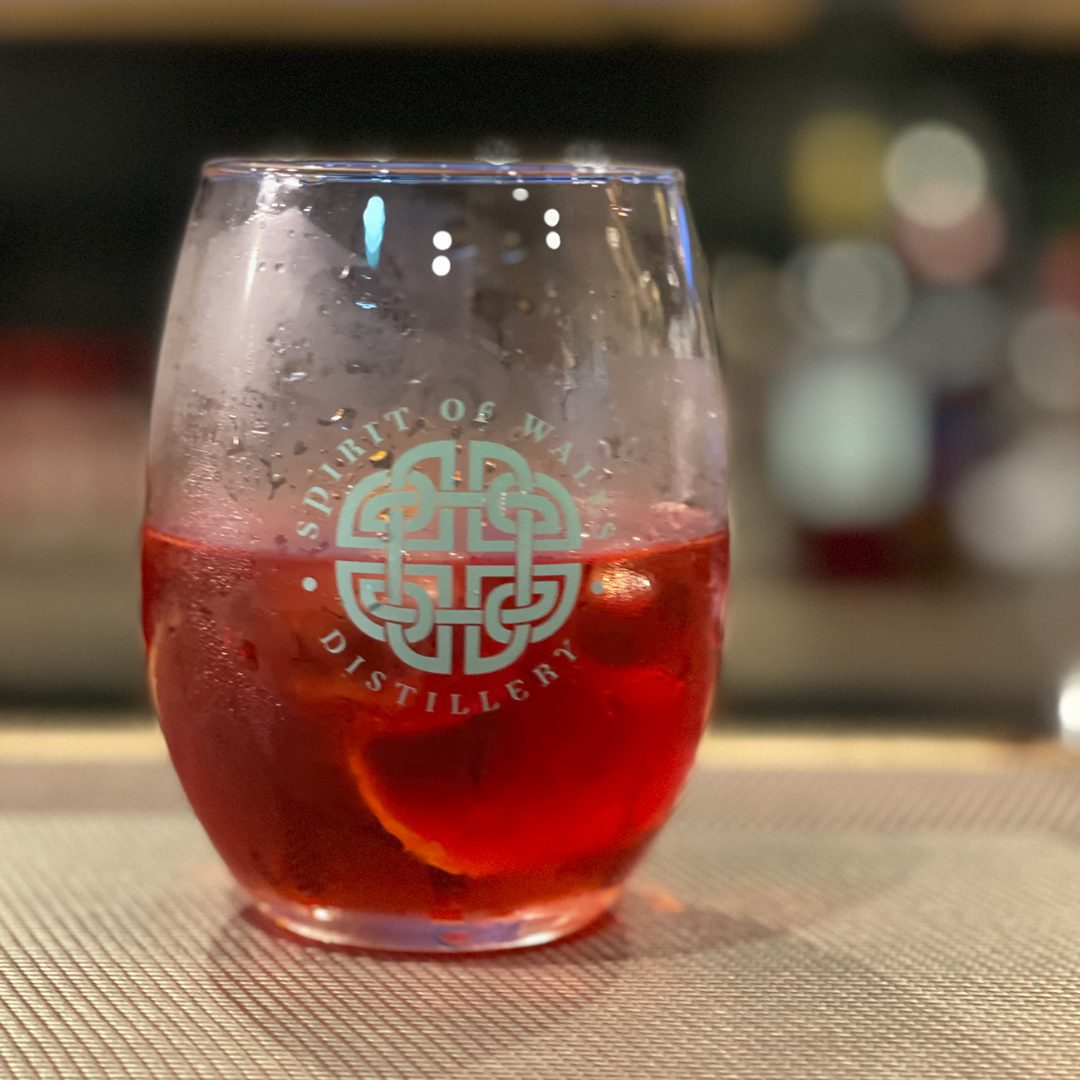 Spirit of Wales Distillery - Welsh Gin Cocktails - Steeltown Negroni