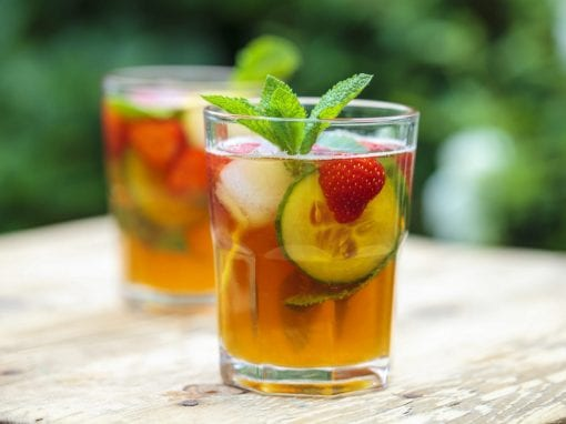 Welsh Summer Cooler with Earl Grey & Steeltown Welsh Gin