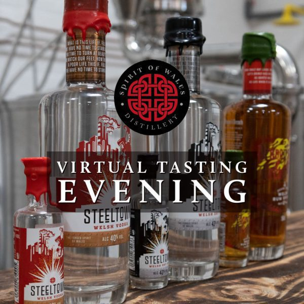 Spirit of Wales VIRTUAL Tasting Event (Entry and drinks for 2 people)