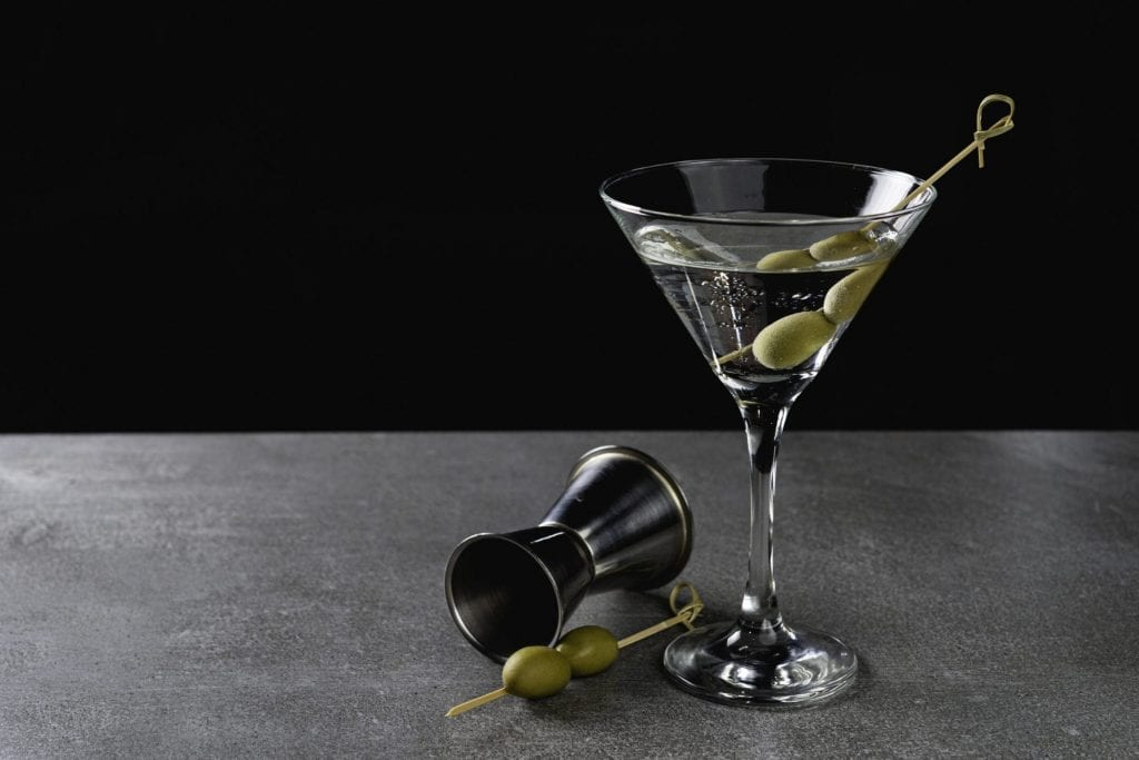 Spirit of Wales Limited Release Distillation first release Welsh Gin Martini Cocktail - World Martini Day
