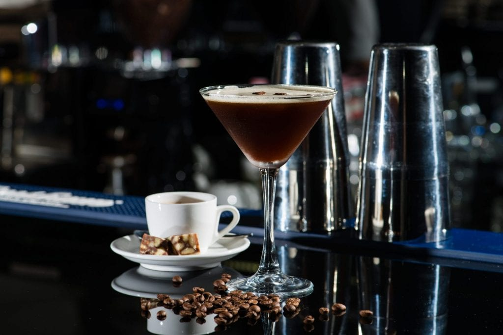 World Martini Day - Espresso Martini made with Steeltown Welsh Vodka from the Spirit of Wales Distillery in Newport, South Wales