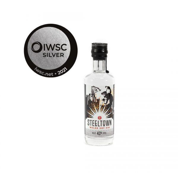 Steeltown Welsh Dry Gin - 5cl