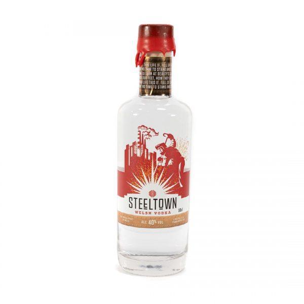 Steeltown Welsh Vodka - 50cl
