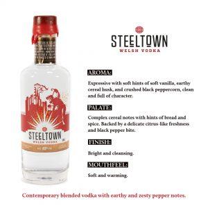 Spirit of Wales Steeltown Welsh Vodka Deal