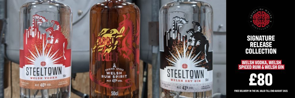 pirit of Wales Distillery Signature Release Collection