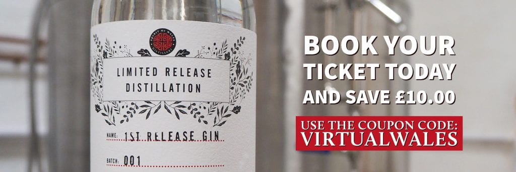Spirit of Wales Distillery Discount Coupon with Welsh Gin