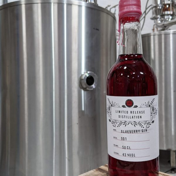 Spirit of Wales Distillery Release Blueberry and Heather Welsh Gin
