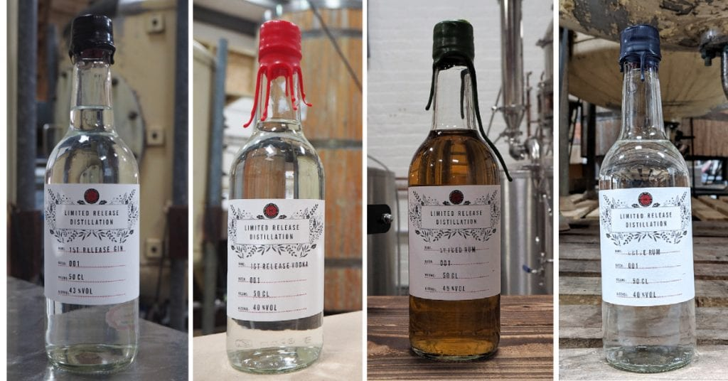 Spirit of Wales limited release distillery collection