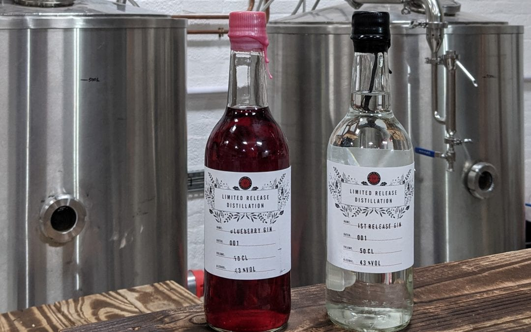 Wild Blueberry Gin with Heather sweetness from Wales.