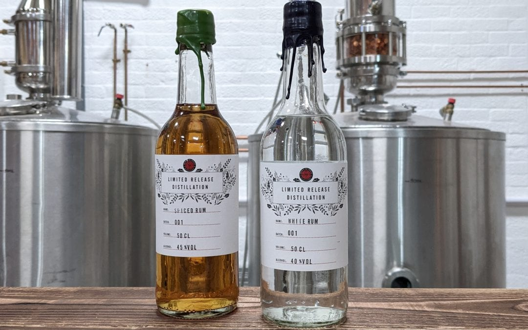 The first Welsh Rum from the Spirit of Wales Distillery