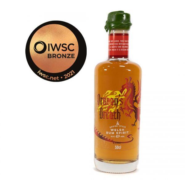Dragon's Breath Spiced Rum - 50cl