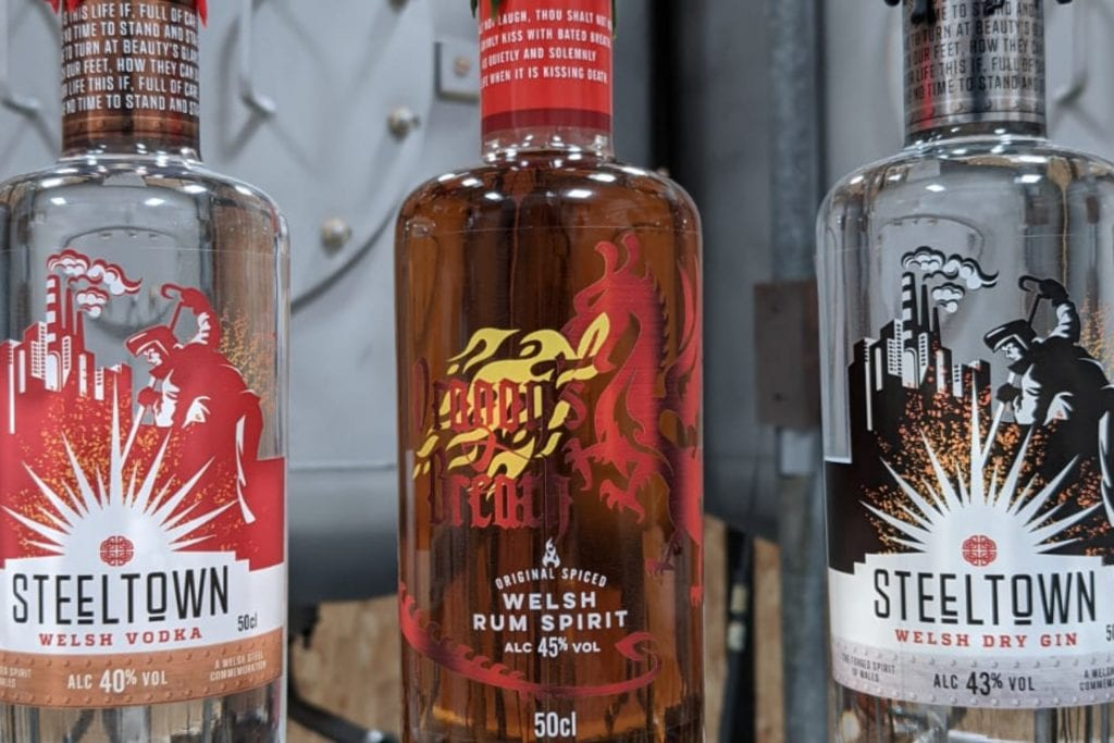 Spirit of Wales Signature release Welsh Spirits