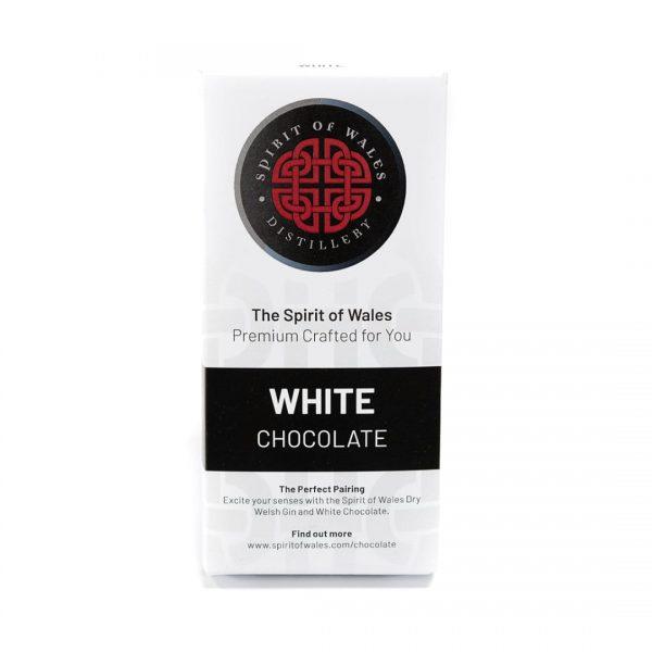 Spirit of Wales White Chocolate (100g Bar)