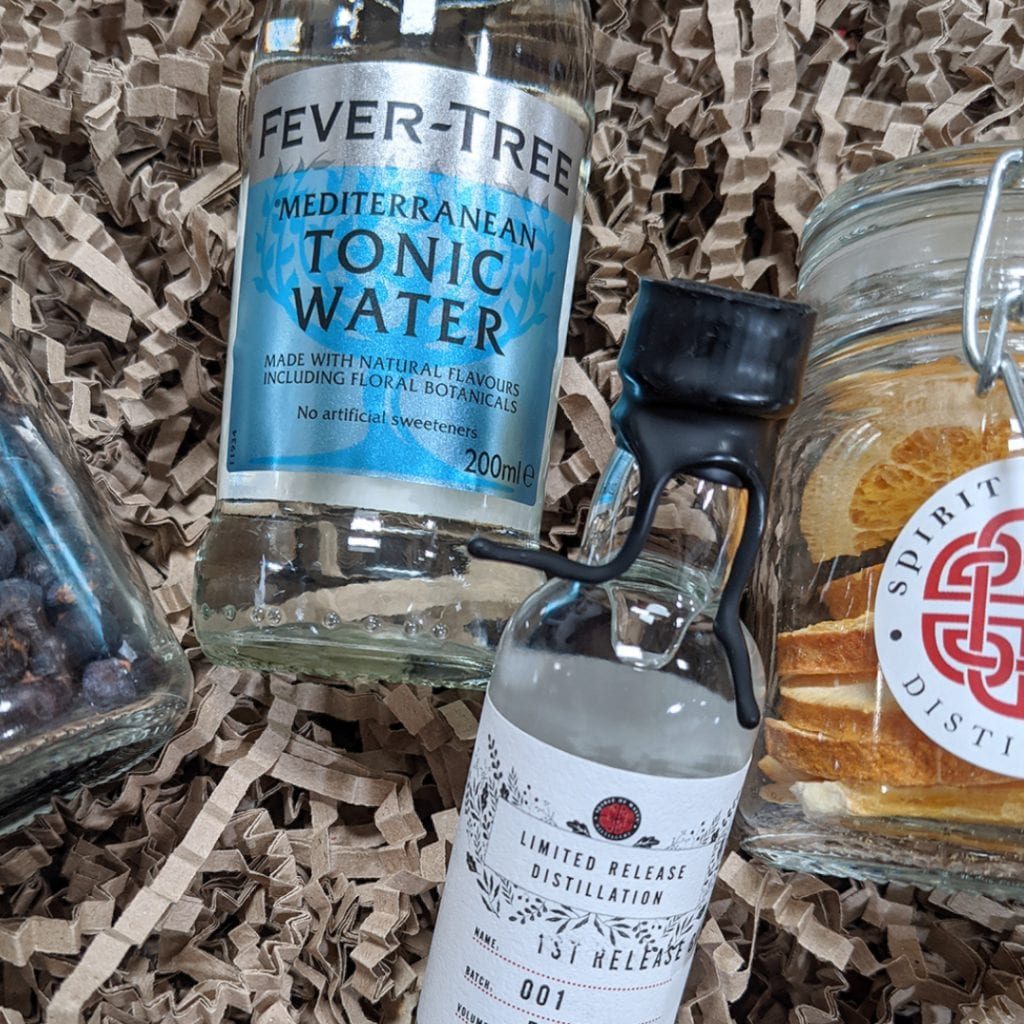 Spirit of Wales Distillery_1st Release Welsh Dry Gin and tonic
