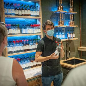 Spirit of Wales guided distillery tour with production manager James Gibbons