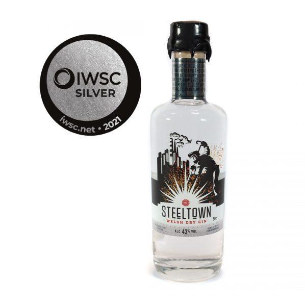 Steeltown Welsh Dry Gin - 50cl