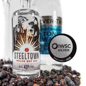 Spirit of Wales Distillery Steeltown Welsh Dry Gin