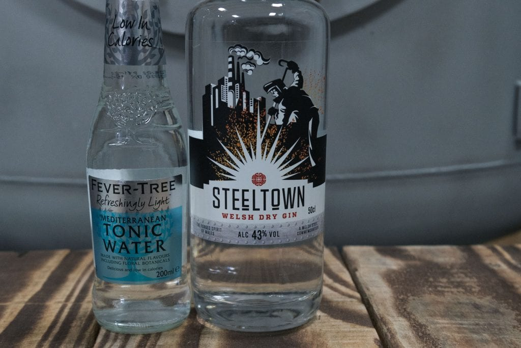 Steeltown Welsh Gin with Fever Tr