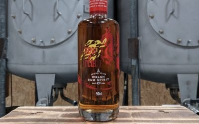 Dragon's Breath Welsh Spiced Rum with Red Dragon Flavour.