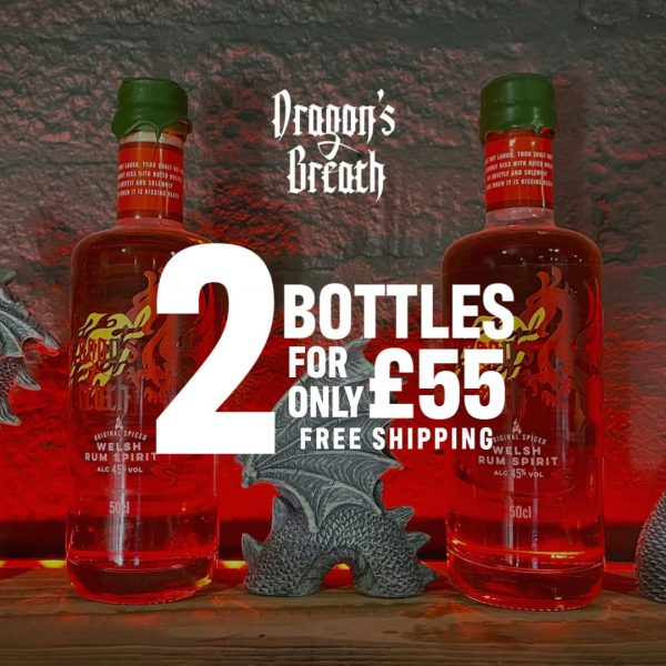 Dragons Breath Spiced Welsh Rum World Rum Day Deal 2021