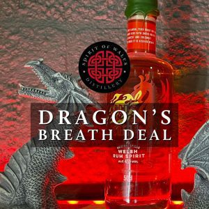 Spirit of Wales Dragon's Breath Spiced Welsh Rum Deal