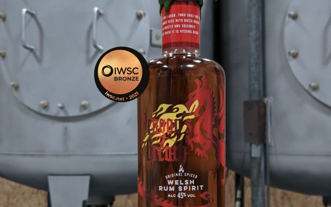 Dragons Breath Spiced Rum IWSC Bronze 89 Score