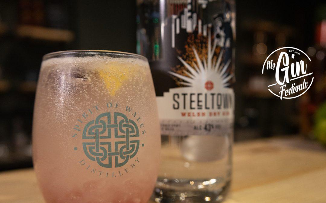 Spirit of Wales Award-Winning Steeltown Welsh Dry Gin at My Gin Festivals
