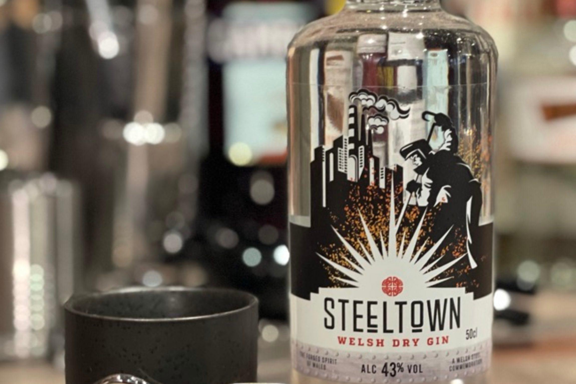 Spirit of Wales distillery introduces their award winning Steeltown Welsh Dry Gin