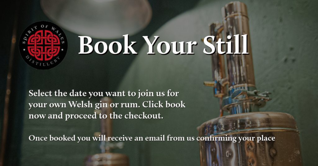Spirit of Wales Distillery - Make Your Own Rum - Book your Still for the experience