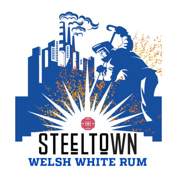 Spirit of Wales - Steeltown Welsh White Rum - Made in Wales