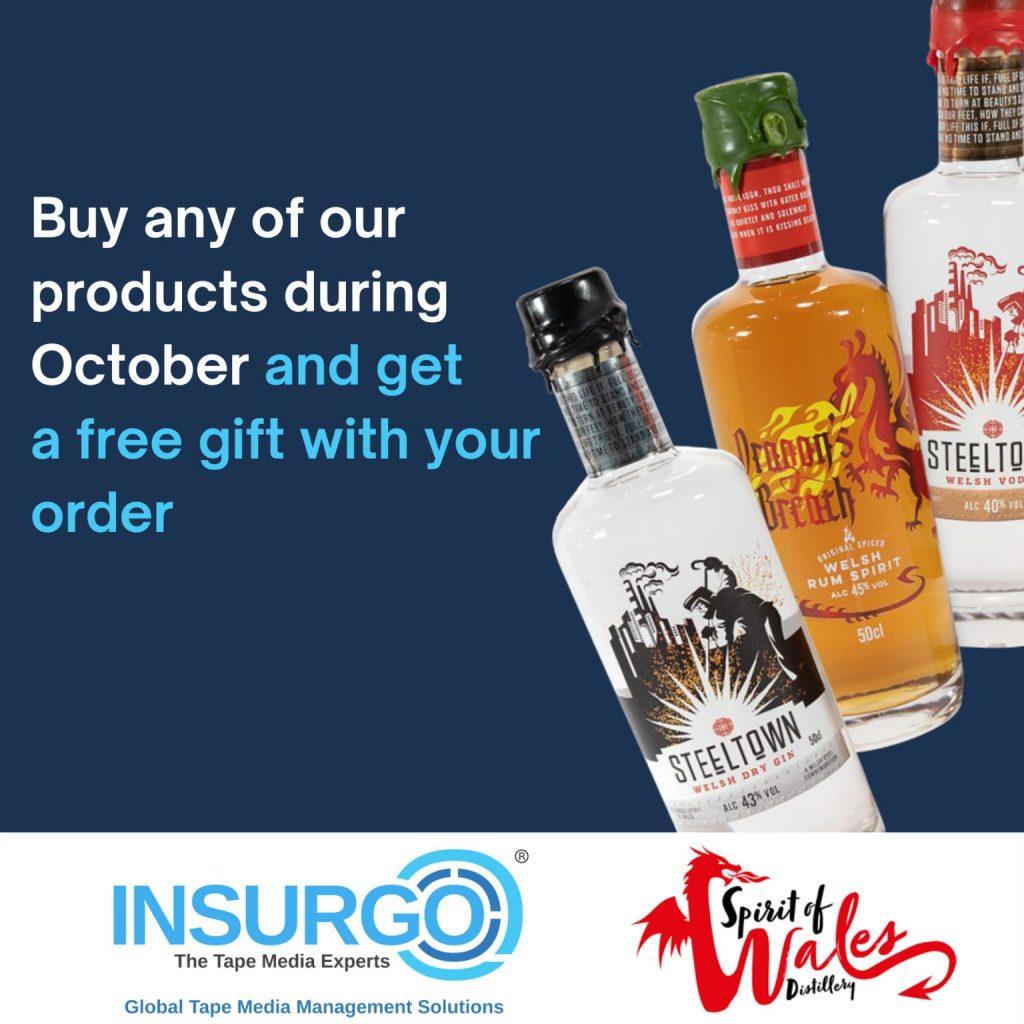 Welsh Business Collbaoration - Insurgo x Spirit of Wales Distillery