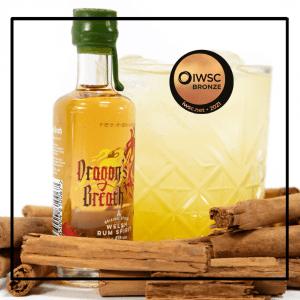 Spirit of Wales Distillery - Dragons Breath Spiced Welsh Rum - IWSC Bronze Medal 2021
