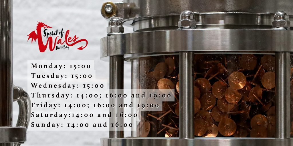 Spirit of Wales Distillery - Guided Tour Info