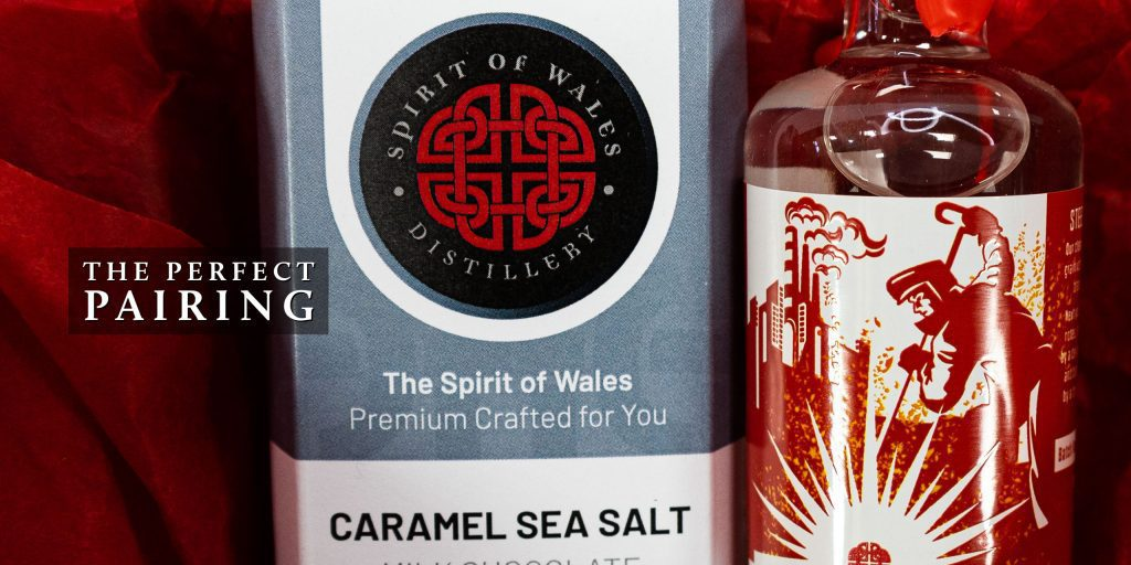 The perfect pairing to try this National Vodka Day from the Spirit of Wales Distillery