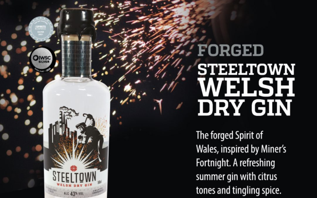 Experience the Forged Gin of Wales at the Spirit of Wales Distillery